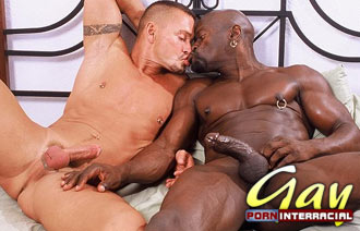 Mobile interracial gay porn